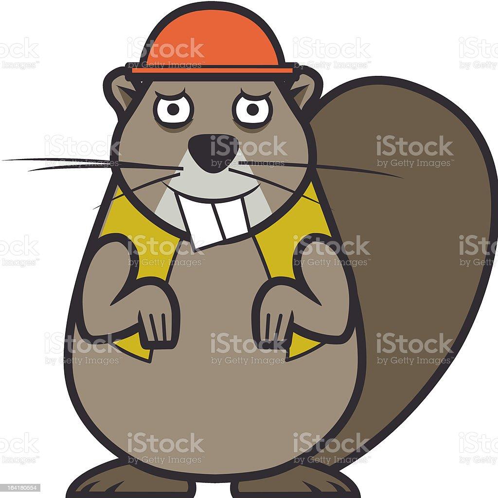 Beaver – Vektorgrafik