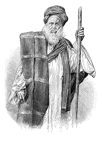 Bedouin doctor of Cairo portrait 1889