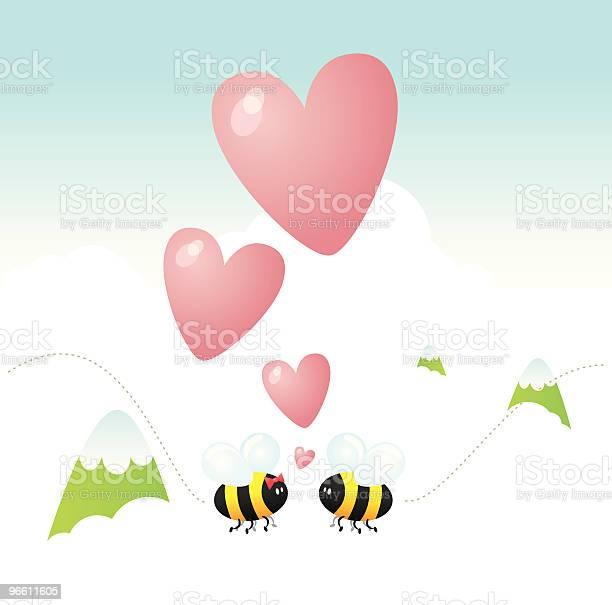 Bee My Lover-vektorgrafik och fler bilder på Berg