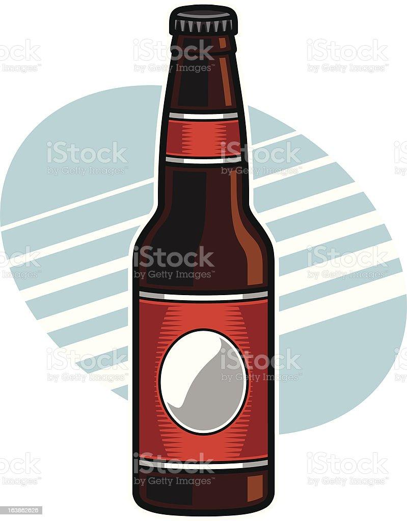 Bierflasche – Vektorgrafik