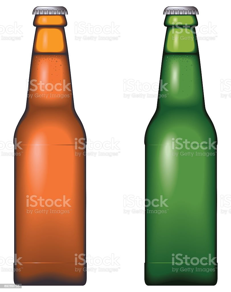 Beer bottle royalty-free beer bottle stock vector art & more images of alcohol