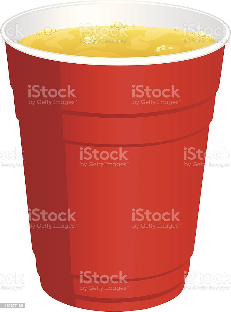 beer cup royalty-free stock vector art
