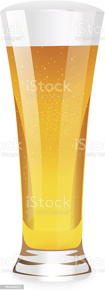 Beer in glass royalty-free beer in glass stock vector art & more images of alcohol