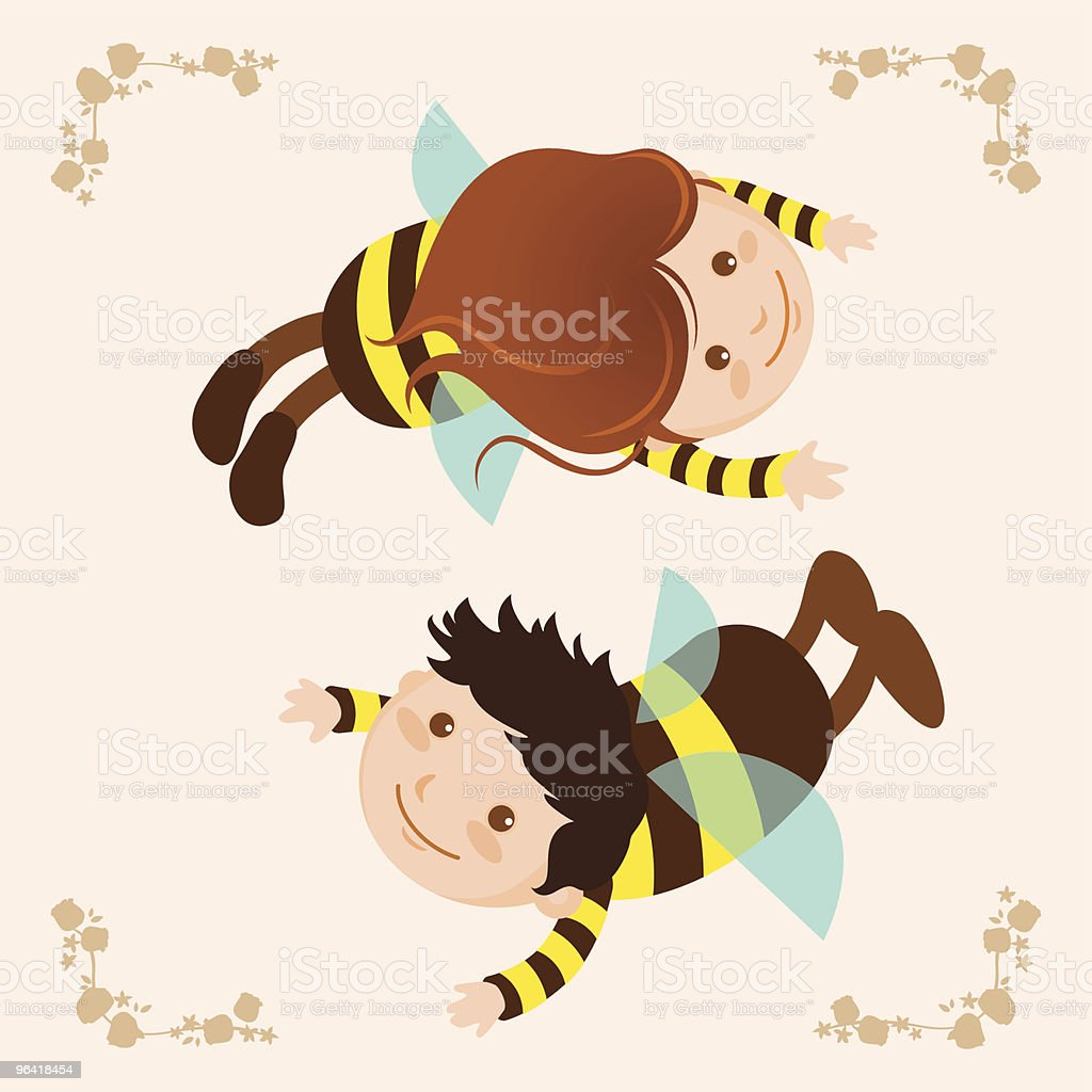 bees royalty-free stock vector art
