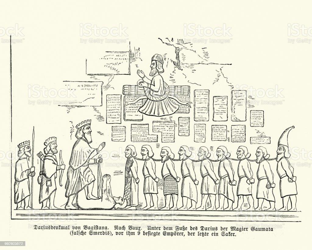Behistun Inscription, conquests of Darius the Great