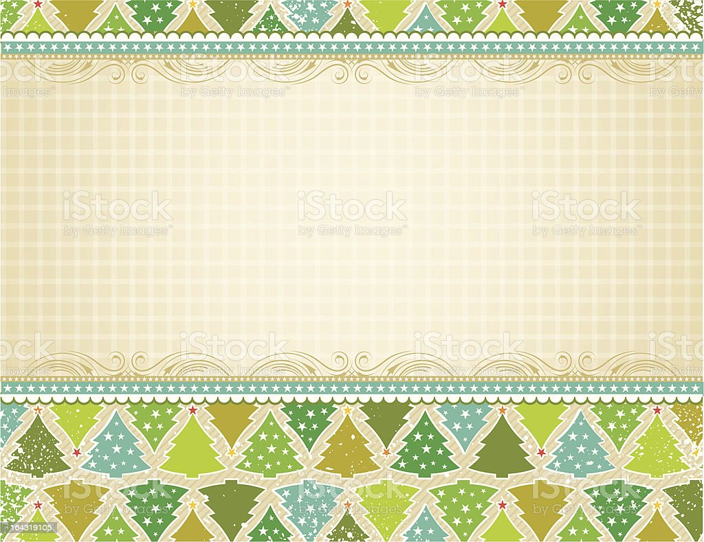 beige christmas background royalty-free stock vector art
