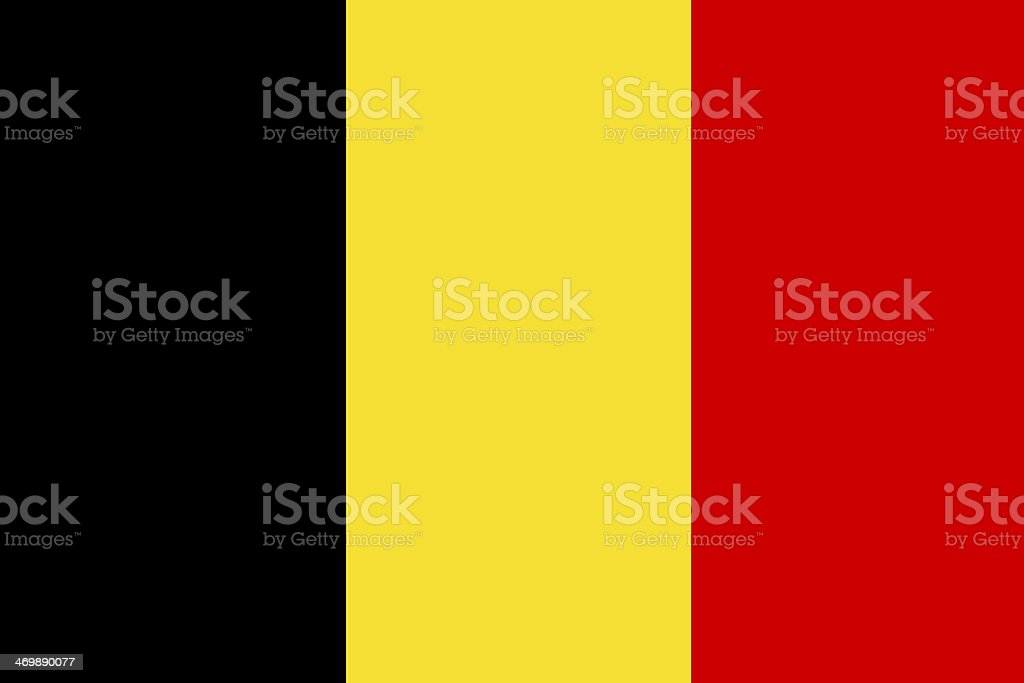 Belgium flag. vector art illustration