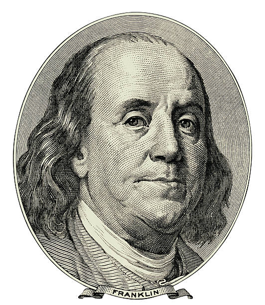 Benjamin Franklin Benjamin Franklin was one of the Founding Fathers of the United States of America. A noted polymath, Franklin was a leading author and printer, political theorist, politician, postmaster, scientist, inventor, satirist, civic activist, statesman, and diplomat. Clipping path included. benjamin franklin stock illustrations