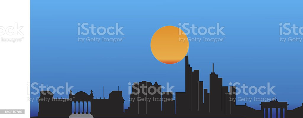 Berlin skyline royalty-free berlin skyline stock vector art & more images of architecture