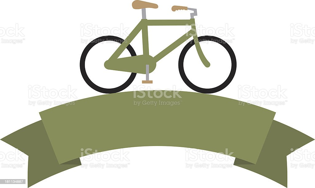 Bicycle banner royalty-free bicycle banner stock vector art & more images of bicycle