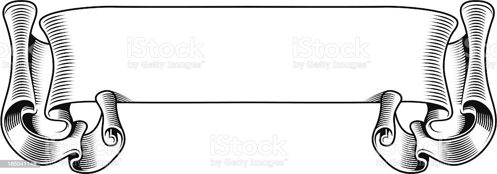 Big scroll royalty-free big scroll stock vector art & more images of announcement message