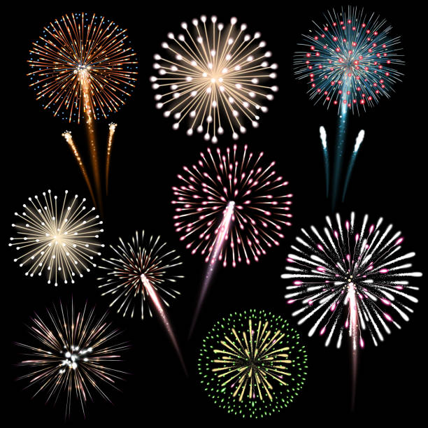 Best Pyrotechnic Effects Illustrations, Royalty-Free Vector Graphics