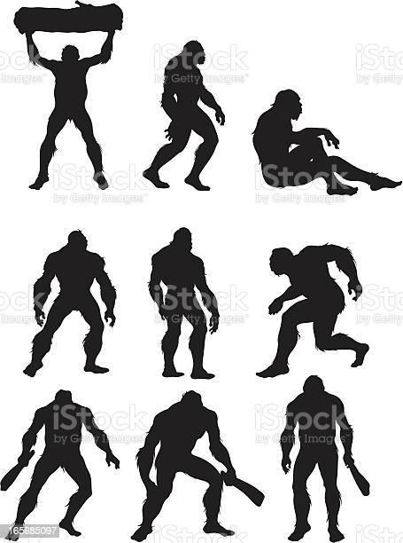 Bigfoot the humanoid beast illustration id165685097?b=1&k=6&m=165685097&s=612x612&h=kiiamealrr1fm1krbtoe2b3yjxwzafg25maafaxl8jq=