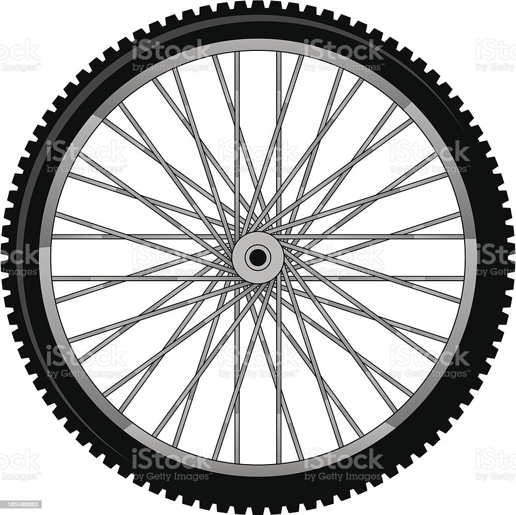 bike tire royalty-free bike tire stock vector art & more images of black and white
