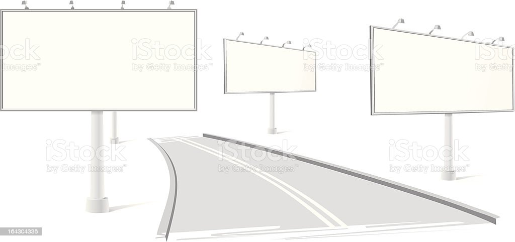 billboard royalty-free stock vector art