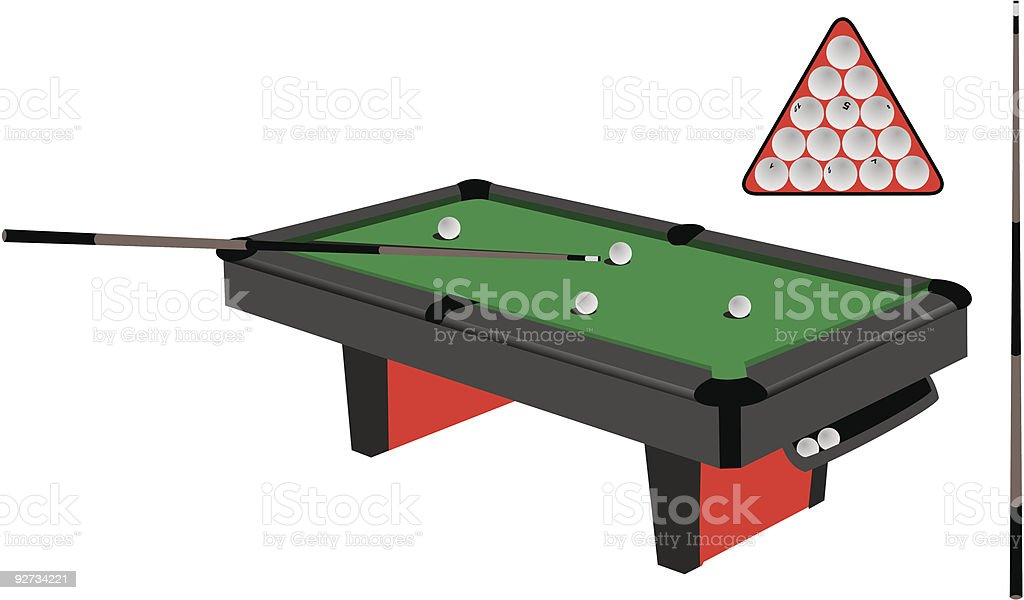 royalty free pool table clip art vector images illustrations istock rh istockphoto com pool table pictures clip art pool table clip art black and white