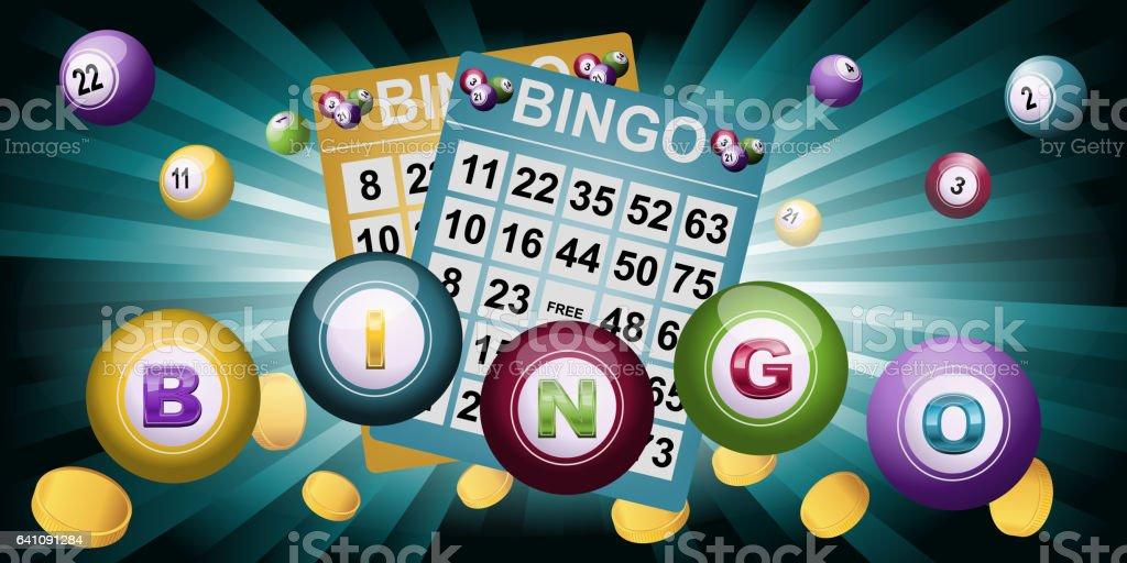 Fondo de bingo - ilustración de arte vectorial