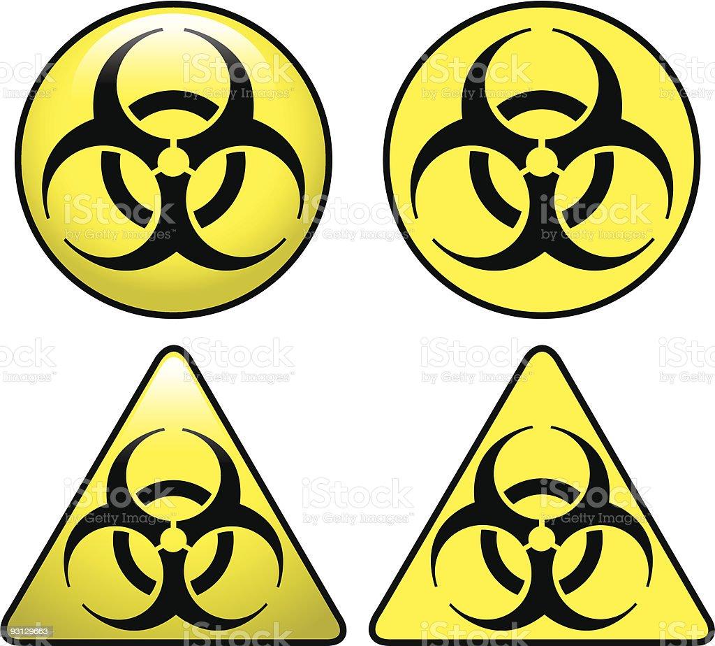 Biohazard! royalty-free stock vector art