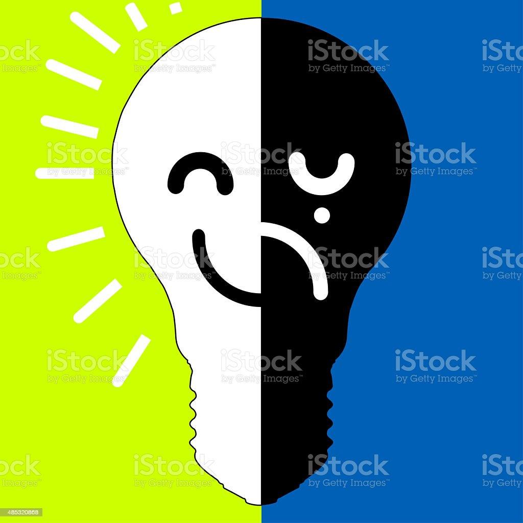 Bipolar disorder sign design stock vector art more images of bipolar disorder sign design royalty free bipolar disorder sign design stock vector art amp biocorpaavc Gallery