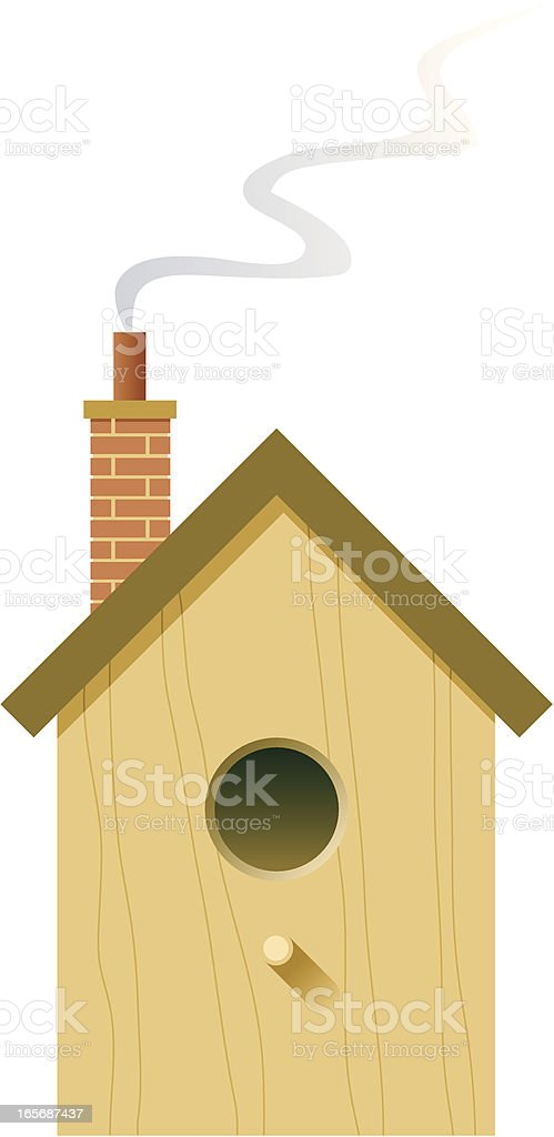 Bird house royalty-free bird house stock vector art & more images of animal care equipment