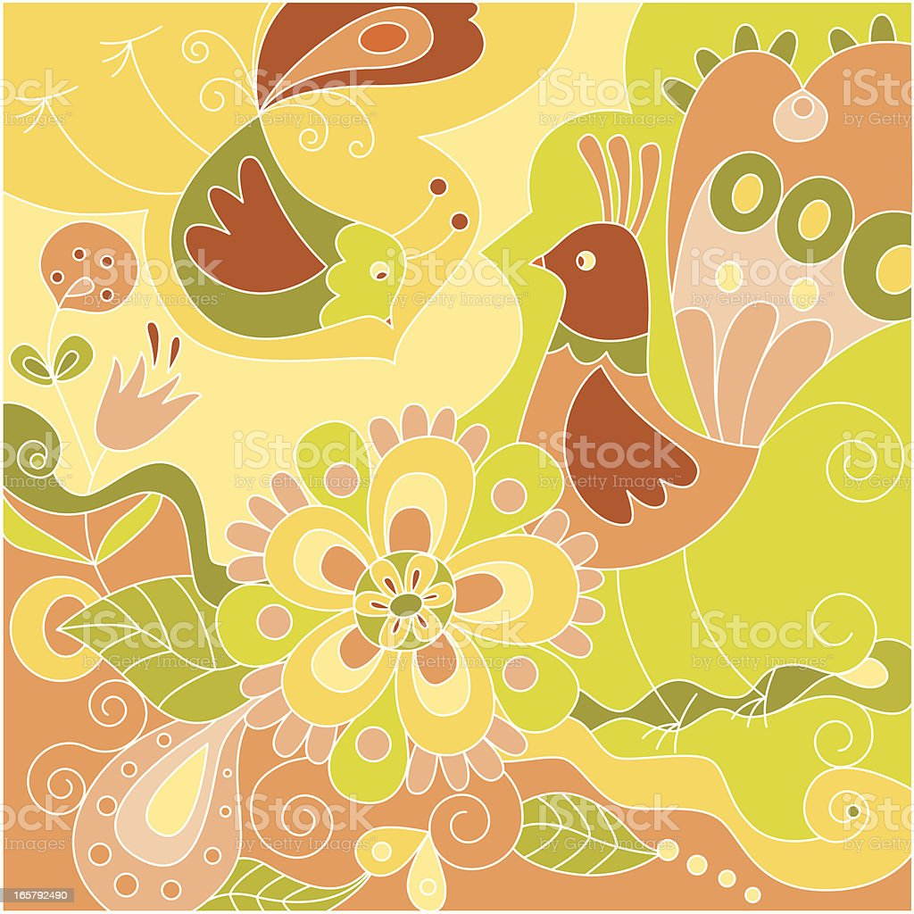 Birds and flowers royalty-free birds and flowers stock vector art & more images of animal