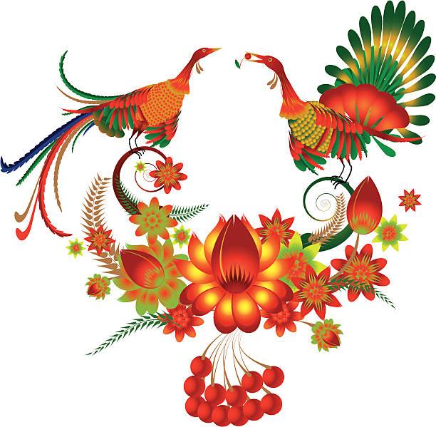 Des oiseaux - Illustration vectorielle