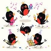 The Birds Celebrate Joyously.