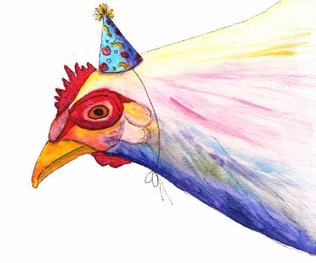 Birthday Chicken