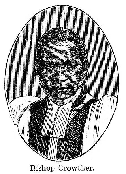 Bishop Samuel Ajayi Crowther vector art illustration