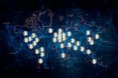 istock Bitcoin and blockchain technology 1208740750