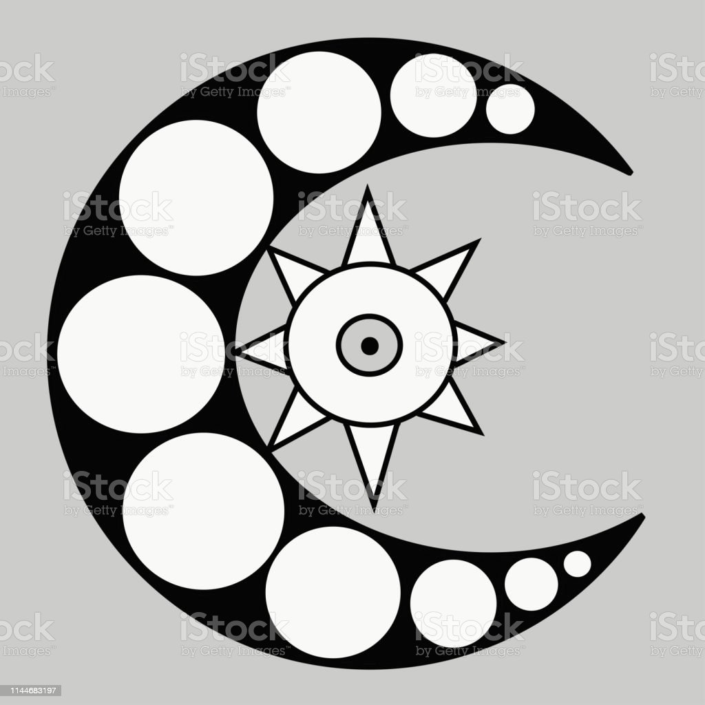 black and white crescent moon vector image stock illustration download image now istock black and white crescent moon vector image stock illustration download image now istock