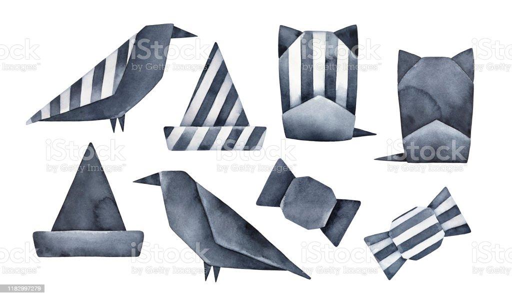 Origami Skeleton Hand : 7 Steps - Instructables | 597x1024