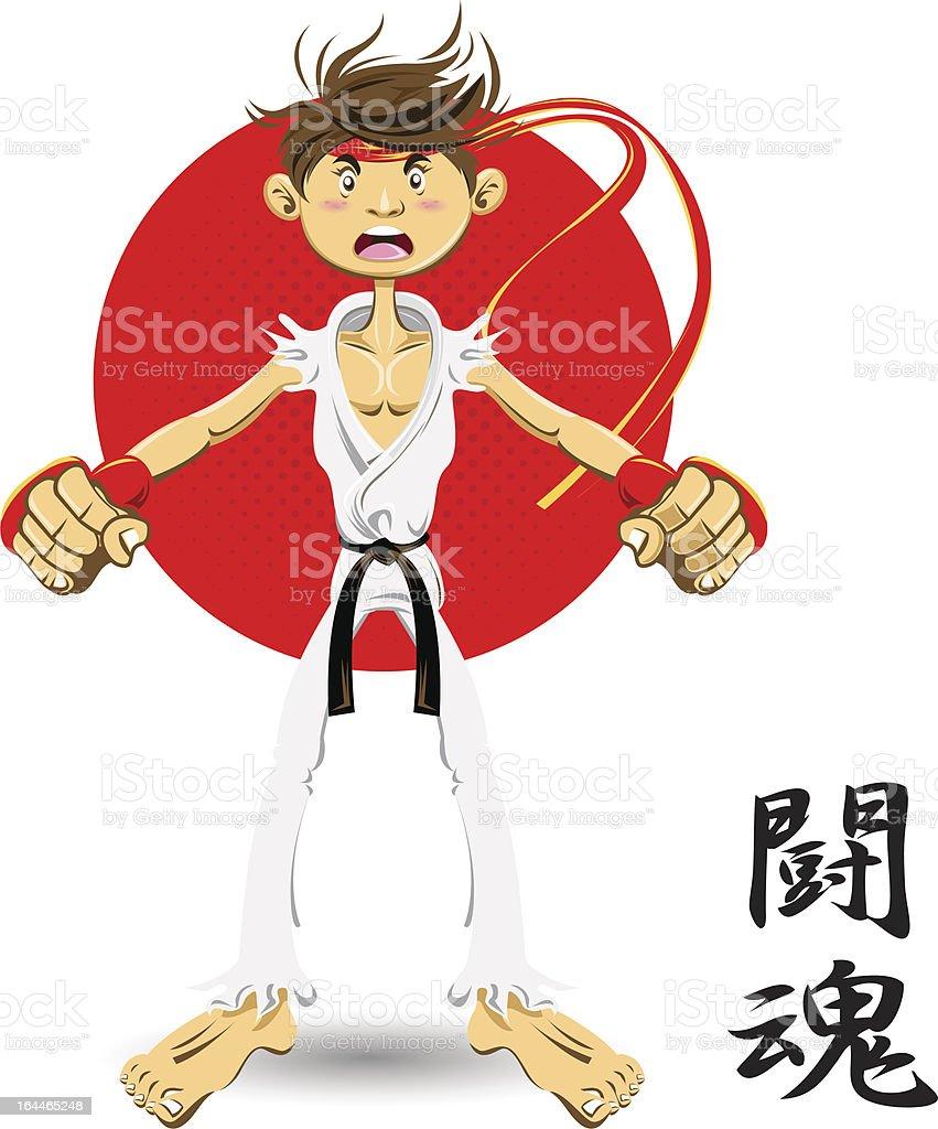 Black Belt royalty-free stock vector art
