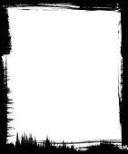 istock Black Brush Frame 92039475