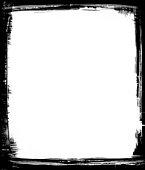 istock Black Brush Frame 92189488