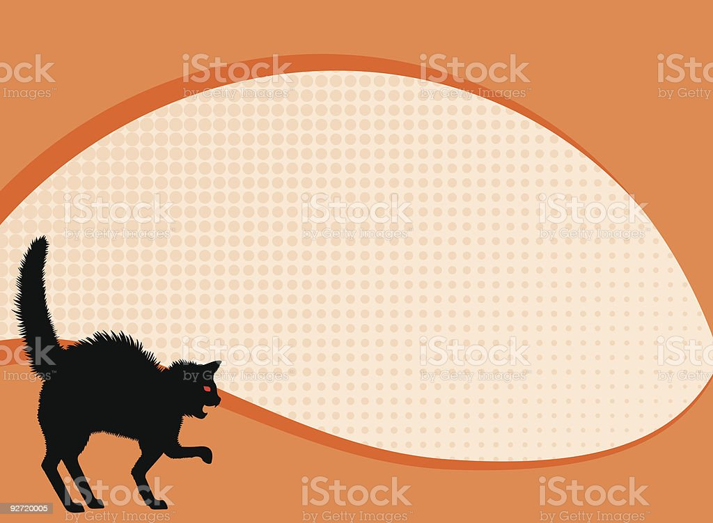 Black Cat Background royalty-free black cat background stock vector art & more images of adversity