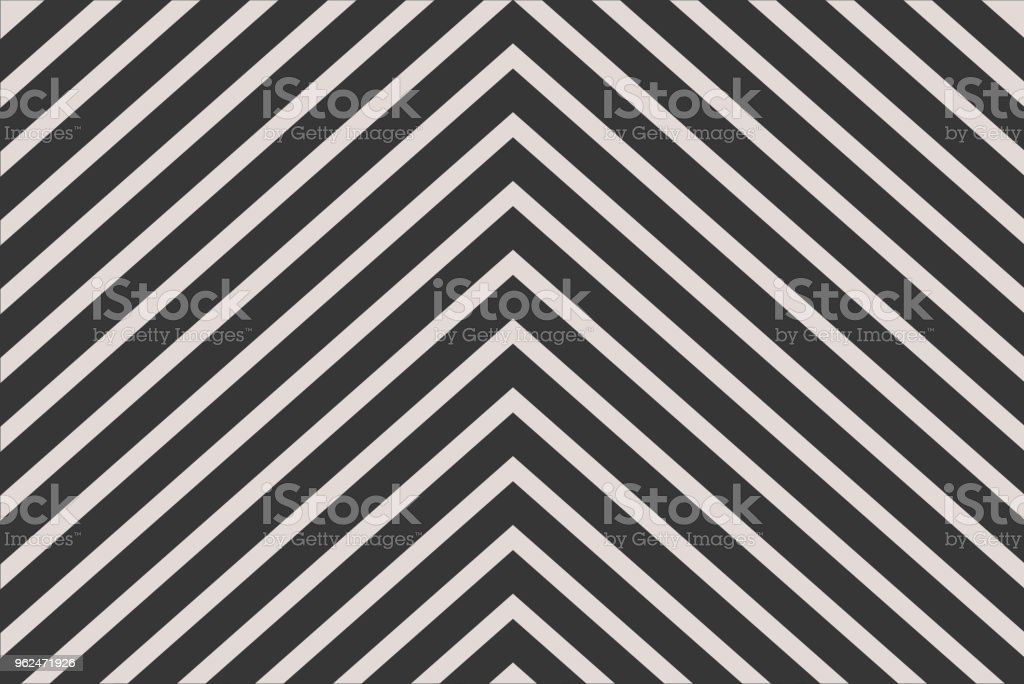 Black chevron stripe pattern for background and wrapping paper design vector art illustration