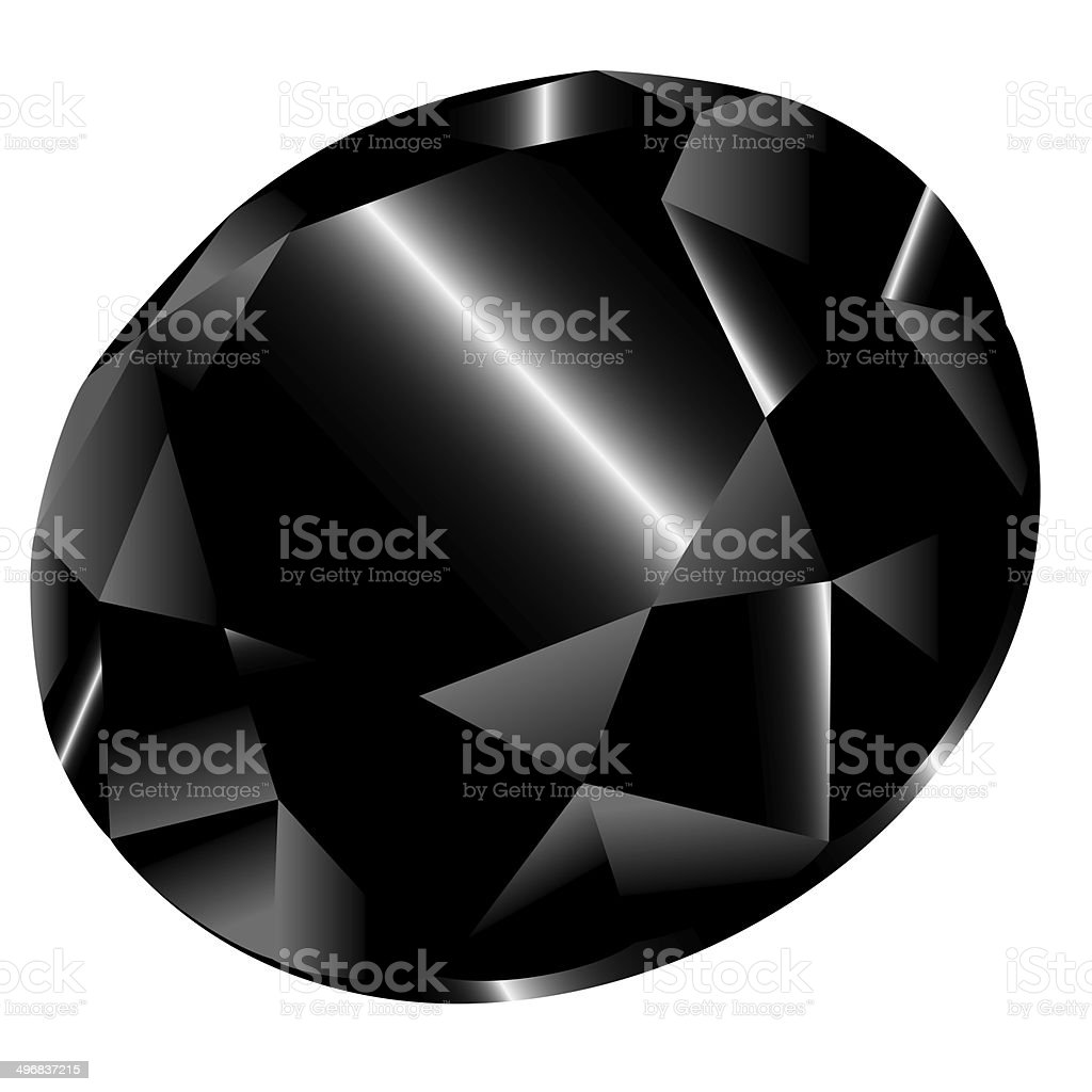 black diamond royalty-free stock vector art