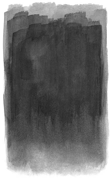 Black fade A layered black watercolor background that fades at the bottom. RETROROCKET stock illustrations