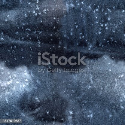 istock Black grey dark blue seamless pattern and tie-dye texture 1317619537