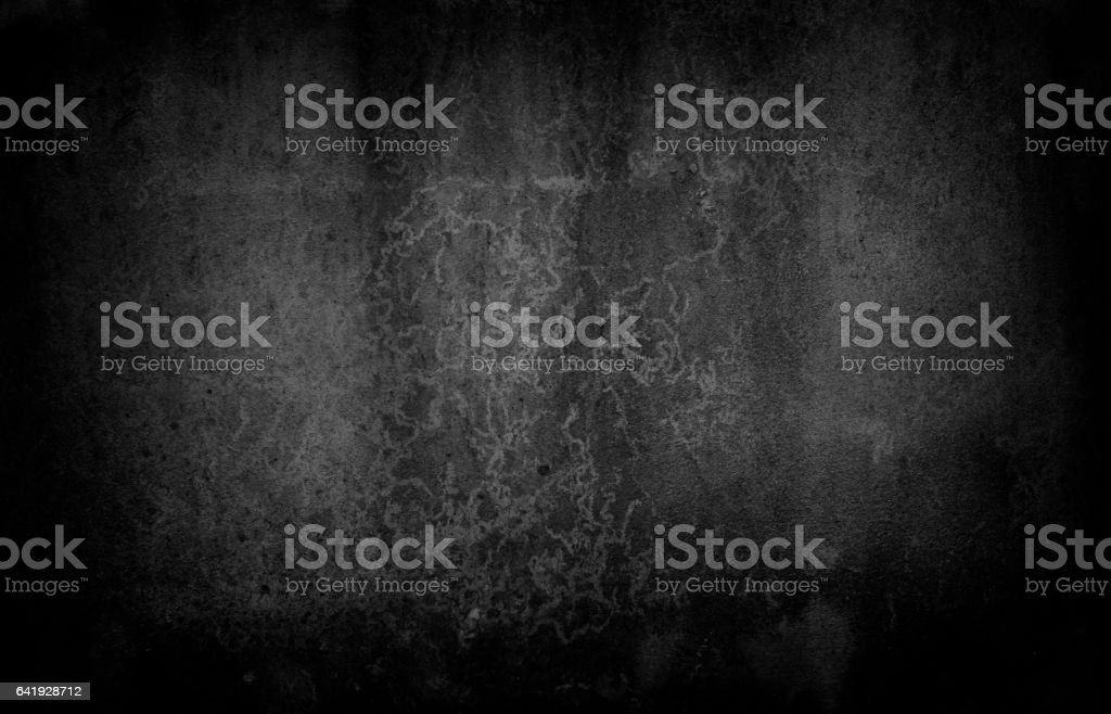 Black grunge texture background. Abstract grunge texture on distress vector art illustration