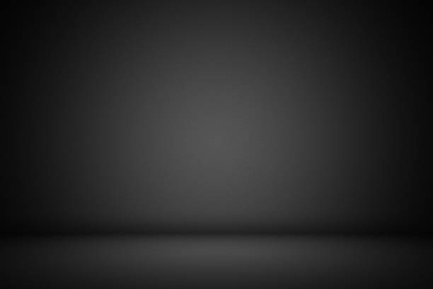 Black interior background Black interior background. black background stock illustrations