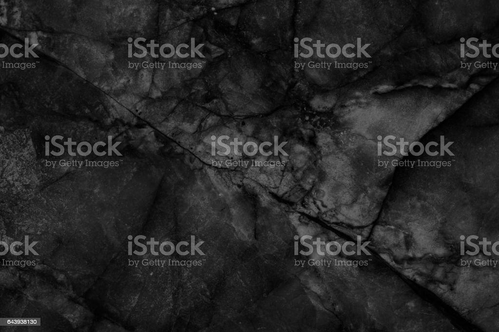Black marble texture. Blank for design vector art illustration