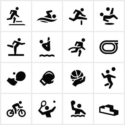 Black Sports Figures Icons