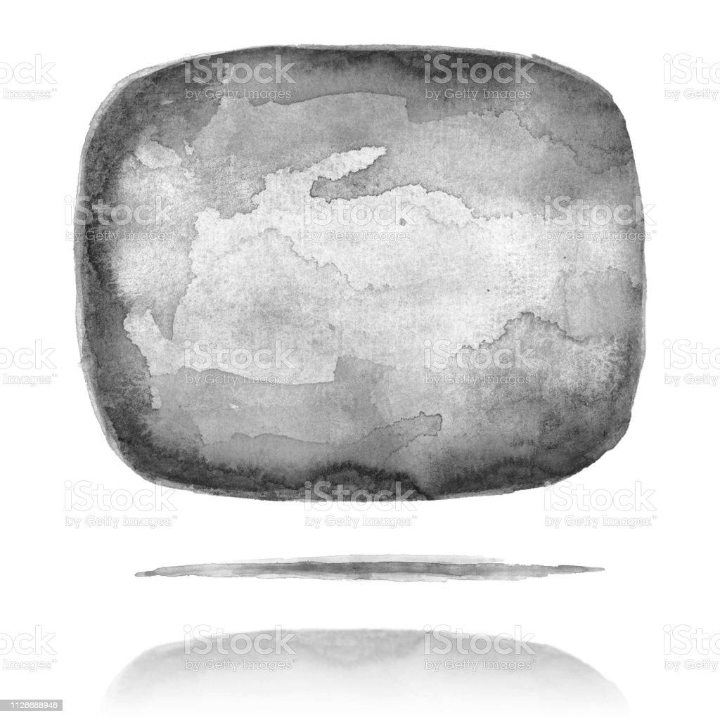 Ilustracion De Simbolo De Burbujas De Discurso Cuadrado Negro Con