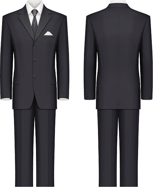 Black suit – Vektorgrafik