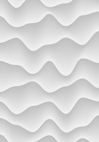 Black White 3D Fluid Distorted Structure Light Vertical Background