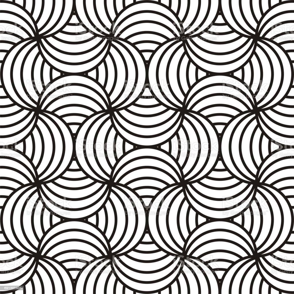 Dessin Abstrait Noir Blanc Vecteurs Libres De Droits Et Plus