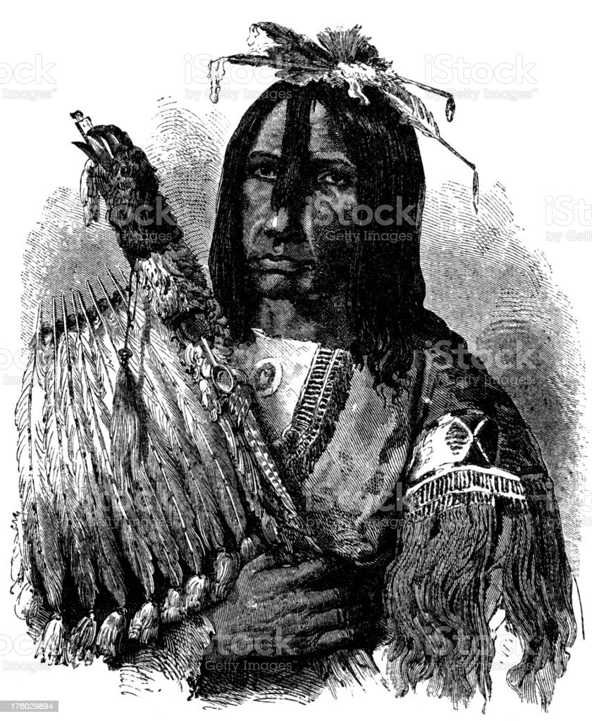 blackfoot chief royalty-free blackfoot chief stock vector art & more images of 18th century