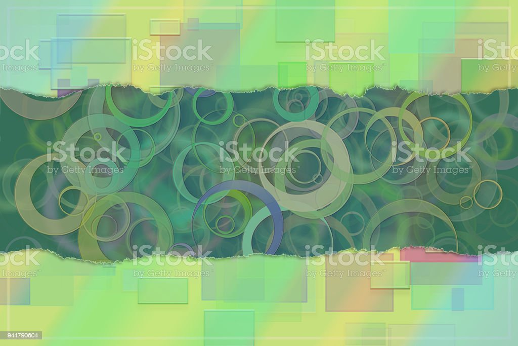 Blank abstract pattern background for name, caption or title. Shape, artwork, texture, style & creative. vector art illustration